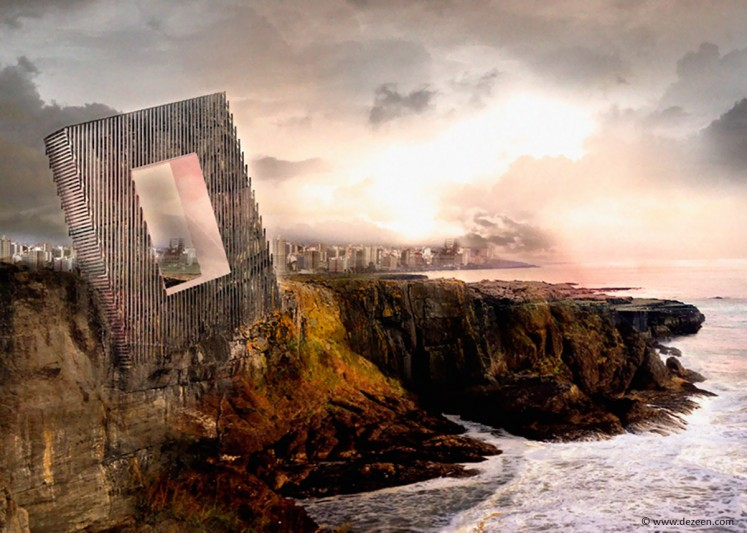 Unbalanced Hotel by OOIIO Architecture