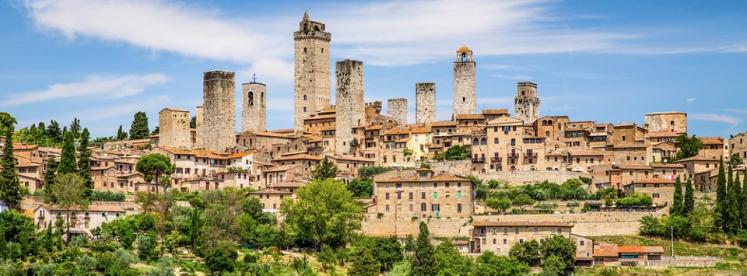 """Die """"Skyline"""" von San Gimignano"""