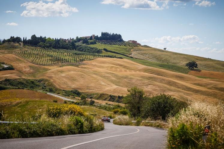 Toskana-Traumstraßen