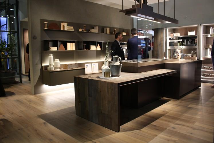 Die Küche wird immer mehr zum Wohnraum  sei es durch Küchenschränke, die eher an dekorative Wohnregale erinnern...