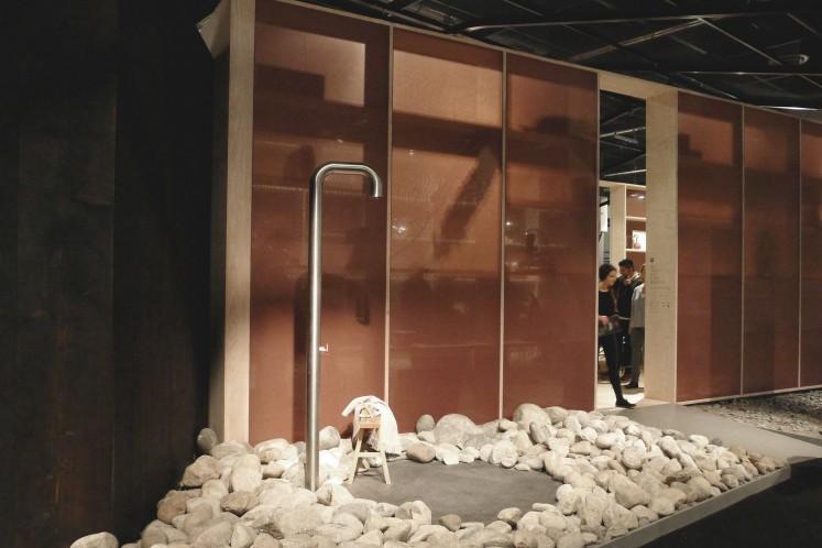 Back to Nature - die Dusche befindet sich bei Todd Brachers Entwurf vor der Tür
