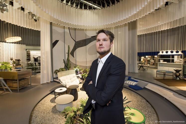 """Der Designer und sein Werk - Sebastian Herkner ist 2016 der Guest of Honor für """"das Haus"""""""