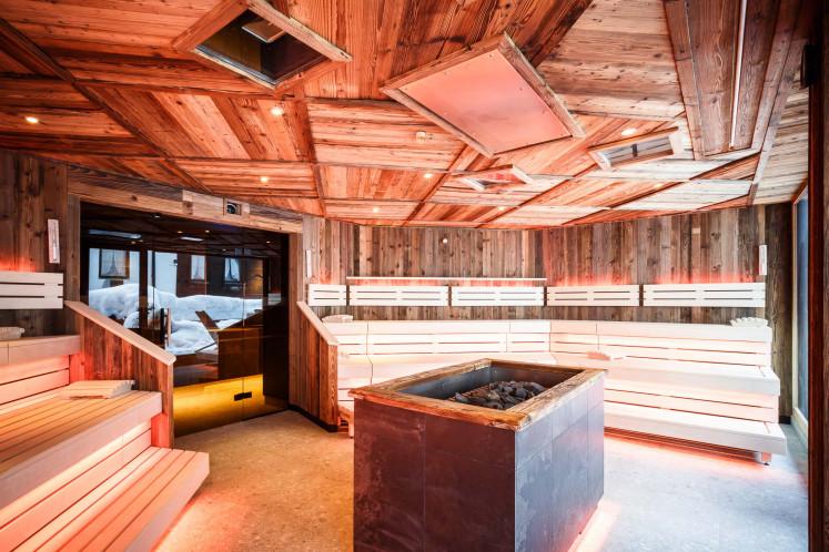 Hotel Bergfried Saune